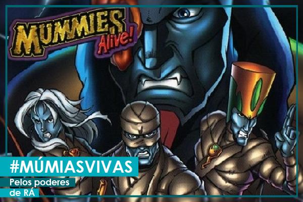 desenho as mumias vivas para