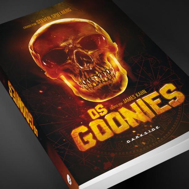 Os Goonies livro darkside modo meu
