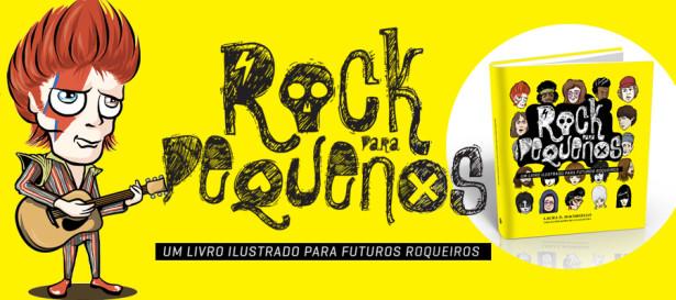 Livro Rock para Pequenos