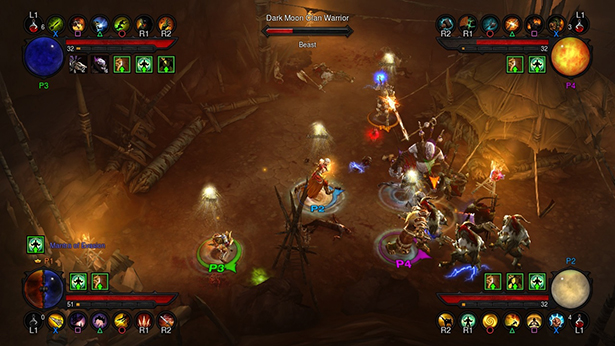 diablo-3-consoles ps3 e xbox 360 multiplayer