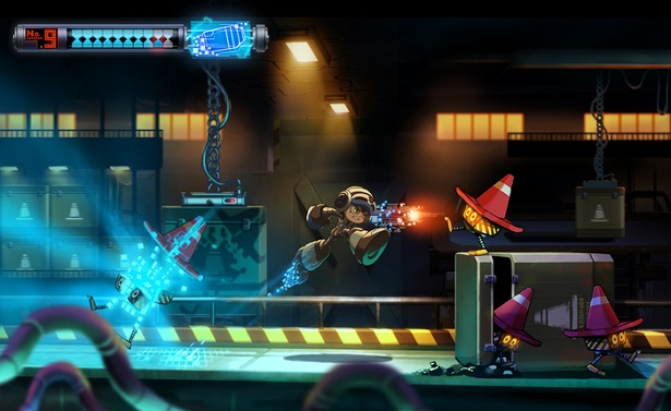 "Mighty No. 9 ""gameplay"""