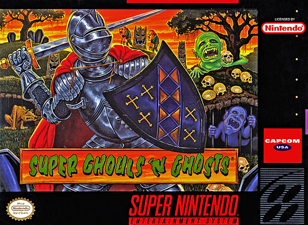 Super Ghouls'n Ghosts CoverScan