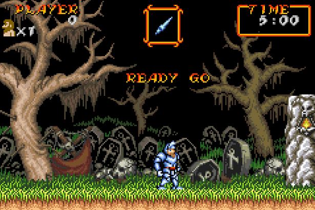 Super Ghouls'n Ghosts gba
