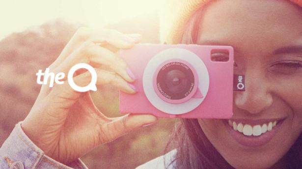 The Q câmera no Modo Meu