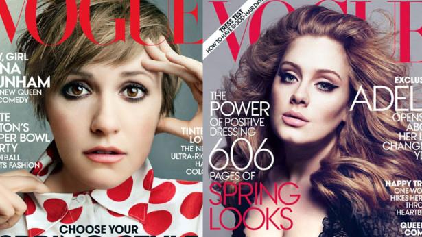 Capas Lena e Adele