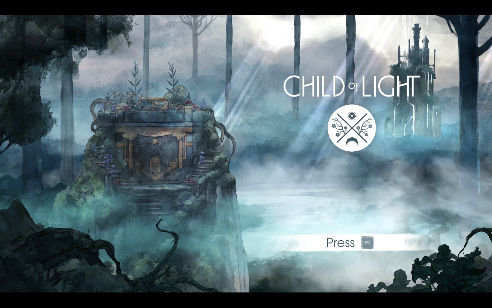 Child of Light Review-Screenshot-Wallpaper-Title-Screen