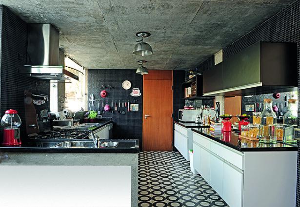 Cozinha + Concreto