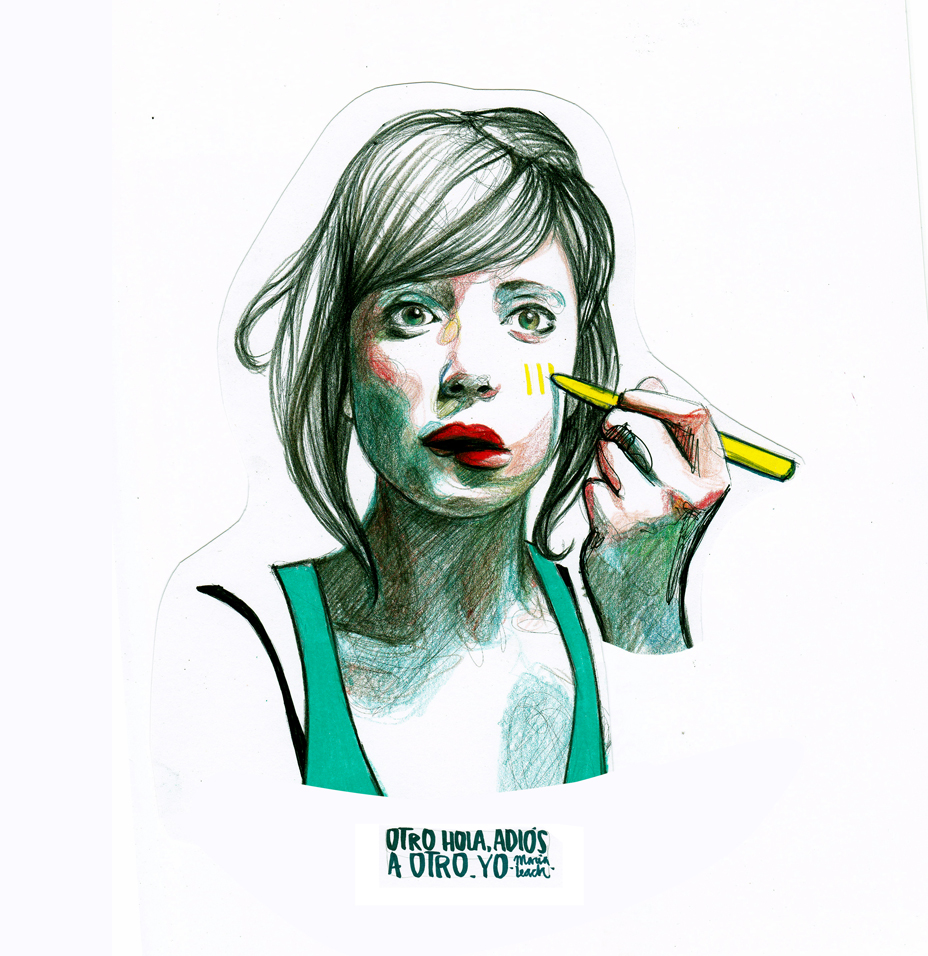 Auto retrato - Paula Bonet