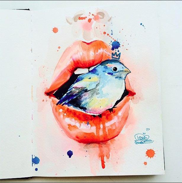 Arte de Lora Zombie