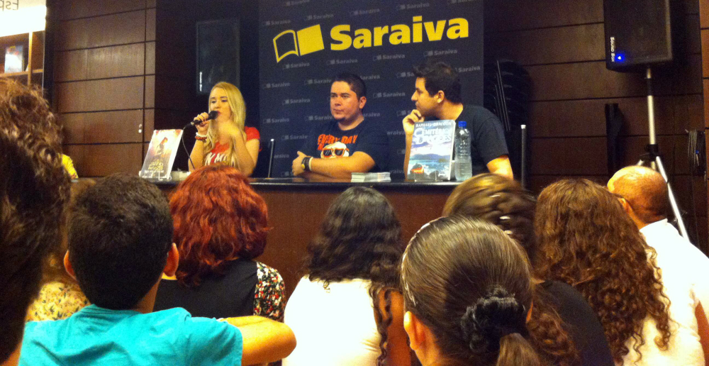 Evento - Raphael Draccon e Carolina Mulhoz - Fortaleza