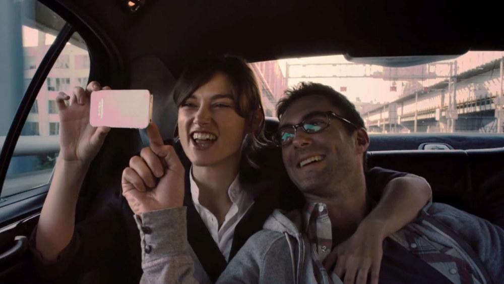Adam Levine e Keira Knightley em Begin Again