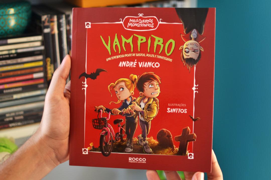 Capa_Vampiro - Uma tenebrosa noite de sustos, doces e travessuras