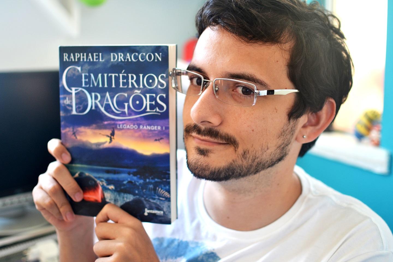 cemitérios de dragões - raphael draccon - capa - modo meu - dyego cruz