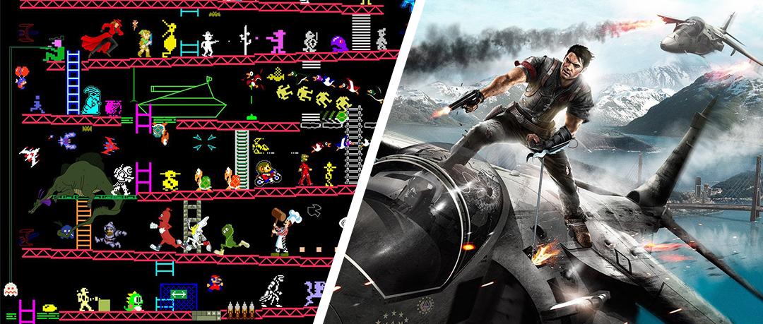 História dos gráficos nos games - modo meu - capa