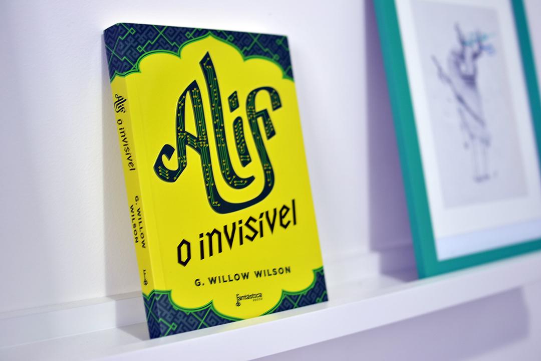 Alif - O invisível - Editora Rocco - selo fantástica - modo meu - 01
