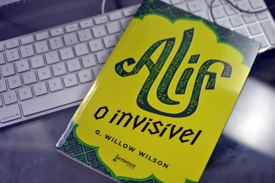 Alif - O invisível - Editora Rocco - selo fantástica - modo meu