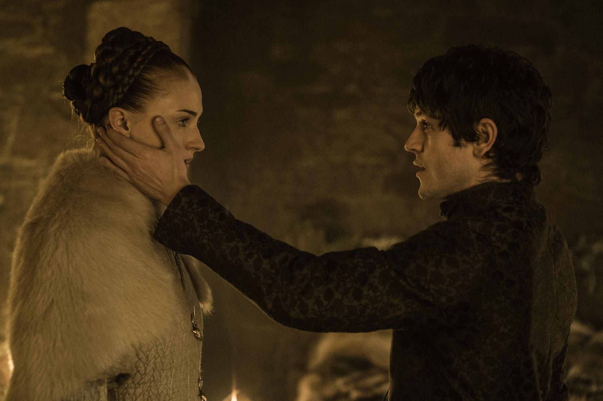 Game ot thrones - 5 temporada - Sansa and Ramsayt