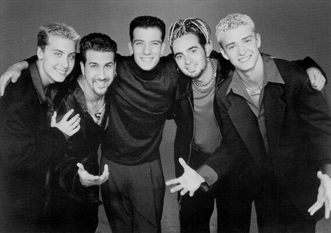 'N Sync boy band