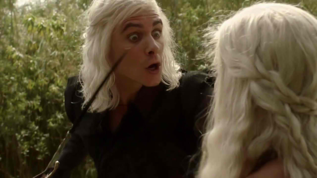 game of thrones - Viserys e Daenerys