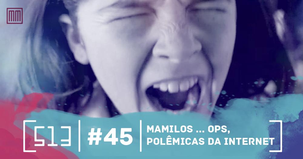 513 podcast 45 - Polêmicas da Internet