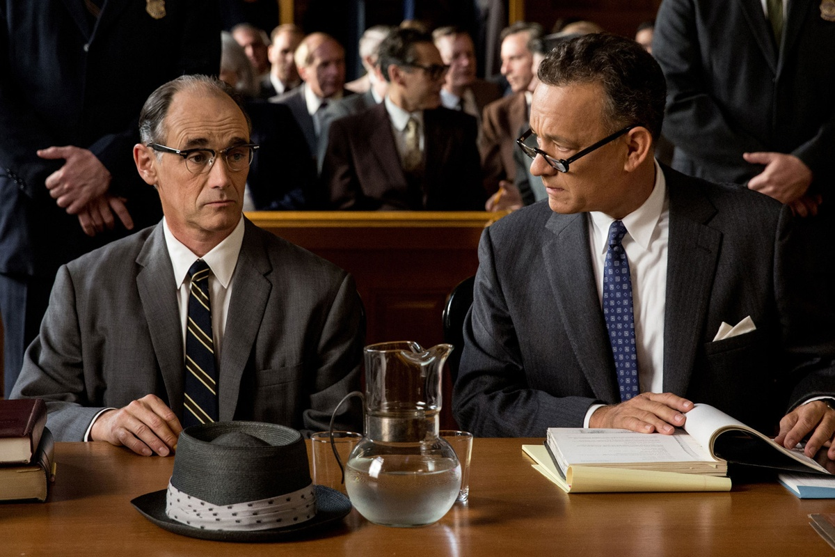 Mark Rylance e Tom Hanks