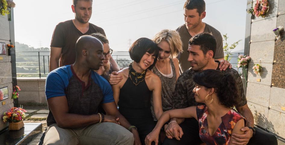 Sense8 Segunda Temporada - Capheus, Wolfgang, Nomi, Sun, Riley, Will, Lito e Kala
